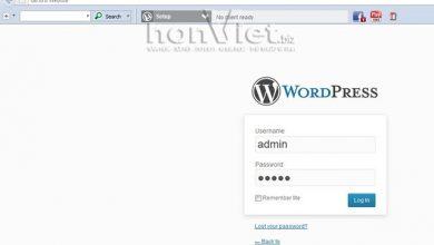 Thủ thuật HonVietBIZ | Phục hồi mật khẩu và đổi tên username trong Wordpress