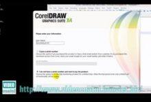 Hướng dẫn cài đặt Corel X4 và X7