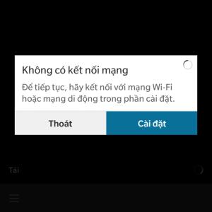 Hướng dẫn Khắc phục lỗi Blackberry World không kết nối mạng