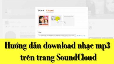 Thủ Thuật HonVietBIZ | Hướng dẫn download nhạc mp3 trên trang SoundCloud
