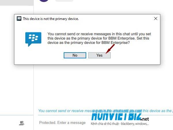 Giới thiệu về dịch vụ nhắn tin BBM Enterprise (BBMe) của Blackberry